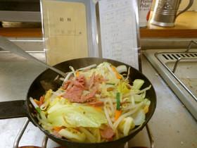 最速のカイジの野菜炒め