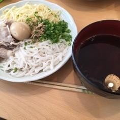糖質0麺でヘルシーつけ麺