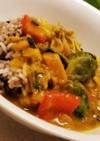 薬膳かぼちゃ野菜カレー