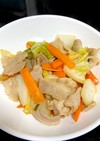 【簡単】豚バラと白菜の甘酢醤油炒め