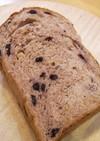 クルミとブルーベリーの食パン