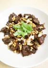 【タイ料理】牛肉または豚肉のニンニク揚げ