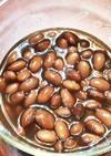 電子レンジ圧力鍋で金時豆の甘煮