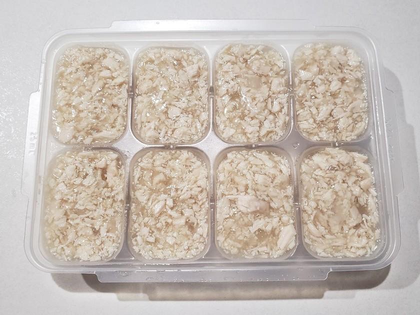 ささみの冷凍保存☆離乳食中期~