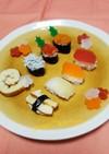 離乳食 野菜お寿司☆一歳のお誕生日