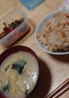 桜エビと生姜の混ぜご飯