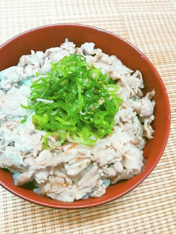 松屋風✤ネギ塩豚カルビ丼
