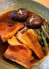 赤魚の煮付け(椎茸いんげん添え)