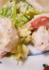 海老とブロッコリー卵サラダ♪