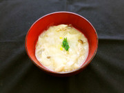 大根麺と豚肉のトロトロスープの写真