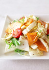 白菜とかぶと柿のデリ風サラダ♡