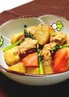 フライパンで●大根・里芋とツナの味噌煮