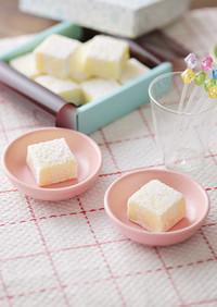ヨーグルト風味の北海道♪ホワイト生チョコ