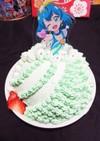 プリキュア ドームケーキ