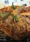 豚肉と野菜の焼きそば風炒め