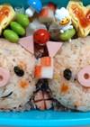豚さん弁当