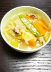 【覚書】もやしのちゃんぽん風スープ