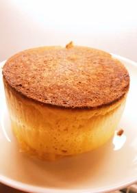 簡単厚焼きホットケーキ