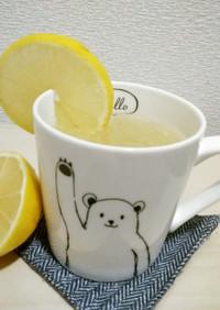 冬の寒さにまけない:ドイツのホットレモン