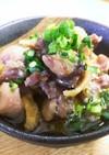 時短 親鶏 (ひね鶏) の塩麹焼き