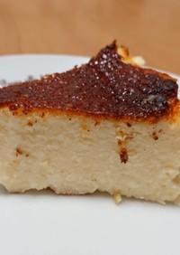 混ぜるだけ簡単「バスク風チーズケーキ」