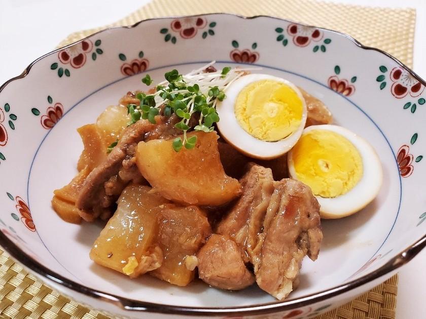 豚肉と大根のこってり中華煮
