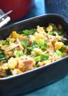 ツナと卵の混ぜご飯
