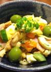 木の芽風味梅干し味のマカロニサラダ