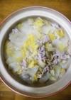 お料理一年生の超簡単❤豚こま白菜鍋❤