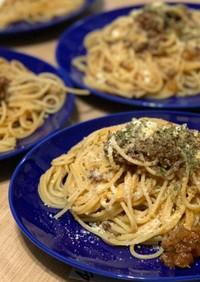 簡単ボロネーゼ風スパゲティ