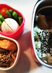 タンパク質多めお弁当⑳ 牛肉甘辛煮