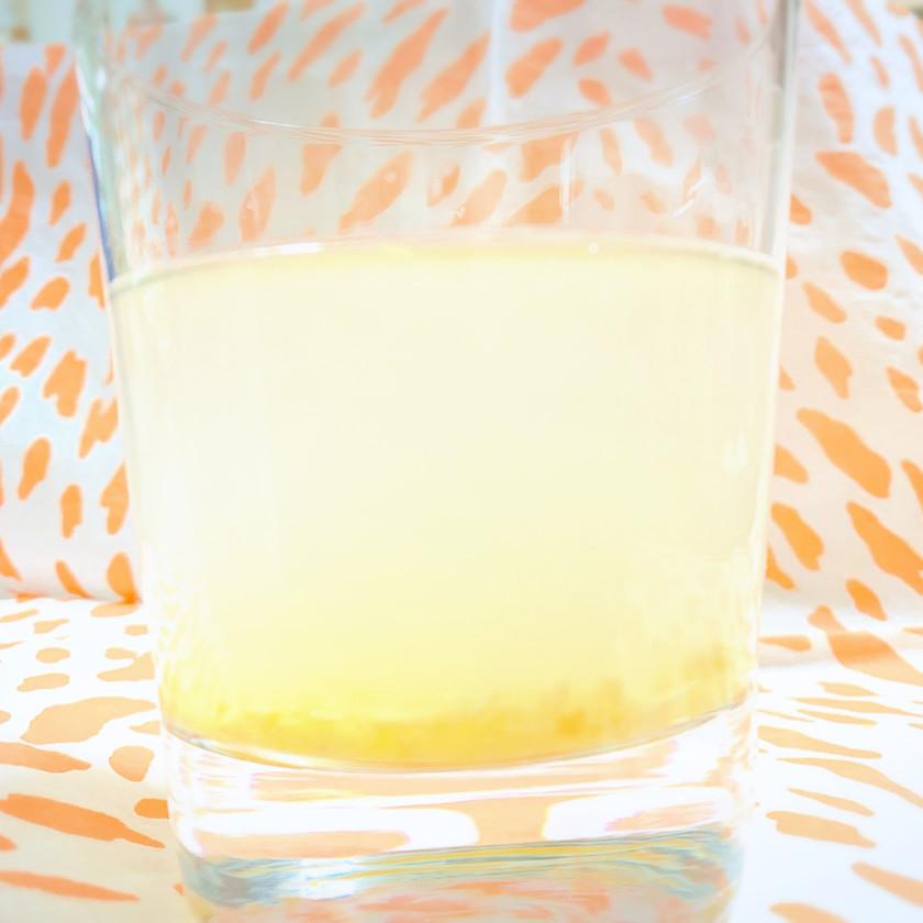 身体ポカポカ!柿酢と酵素のW生姜ドリンク