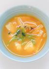 鶏ひき肉団子のスープ