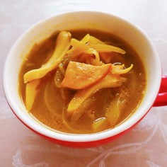 舞茸のカレースープ