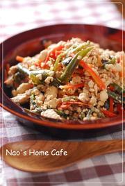 ポン酢でサッパリ*炒り豆腐の写真
