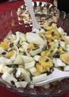 フィノッキオとオレンジナッツのサラダ