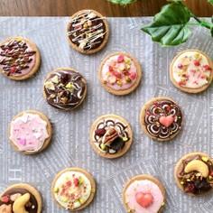 簡単おしゃれ♡バレンタイン♡デコクッキー
