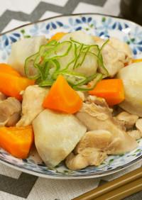 『鶏肉と根菜の味噌煮込み』