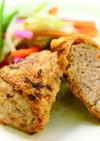鶏ひき肉と豆腐の信田焼き