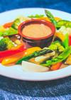 野菜いろいろ バーニャカウダ