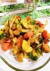 彩り温野菜のバター風味