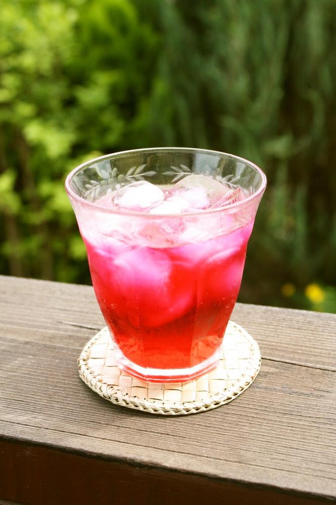 スッキリ爽やか♫赤紫蘇ジュース