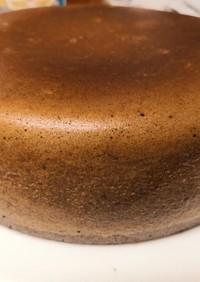 簡単 小学生が作るほうじ茶炊飯器ケーキ
