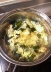 卵入りコンソメスープ☆なんでも野菜