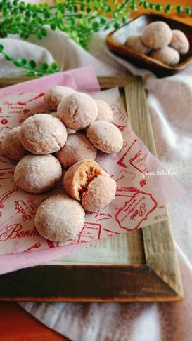 バレンタインにも☆ルビーチョコクッキー。