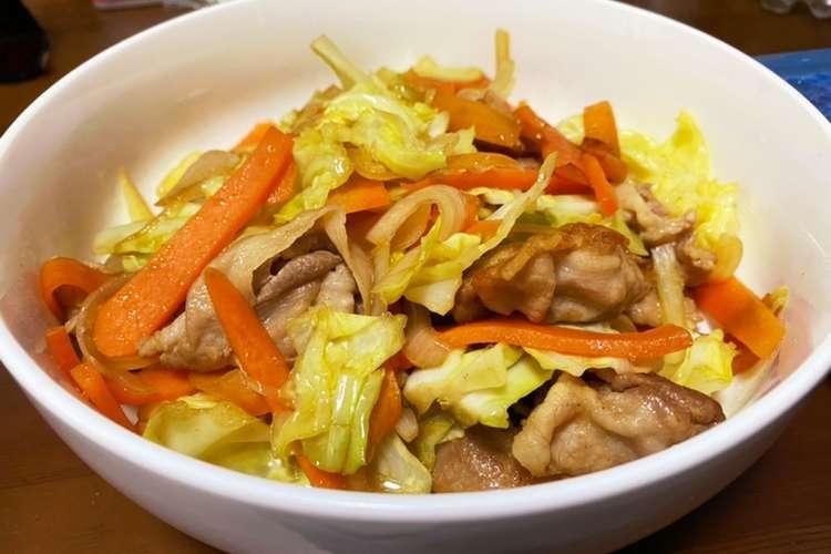 野菜 炒め 美味しい