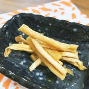 ポリポリ美味しい、切干大根の柿酢漬けの写真