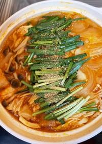 簡単・キムチ鍋(素不使用)