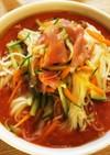 簡単!野菜洋風素麺