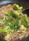 簡単☆豚肉とブロッコリーの黒胡椒あんかけ